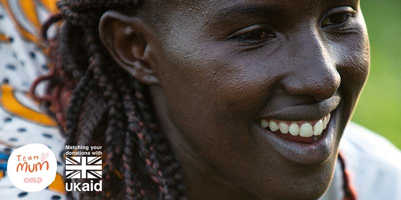 Kenyan mother Winfred